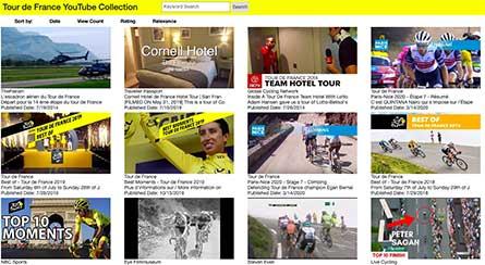 Tour De France explorer